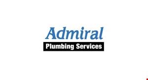 Admiral Plumbing logo