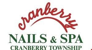 Cranberry Nails & Spa logo