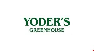 Yoder's Greenhouse logo