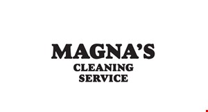 Magna's  Cleaning Service logo