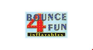 Bounce 4 Fun Inflatables logo