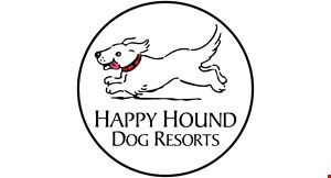 Happy Hound Dog  Resorts logo