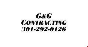 G&G Contractors, LLC logo