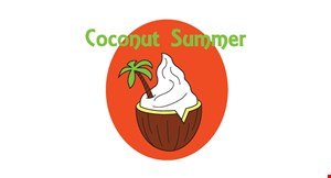 Coconut Summer Frozen Yogurt and Raw Juice Bar logo