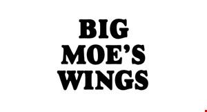 Big Moe's Wings logo