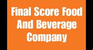 Final Score  Food and Bev. Co. logo