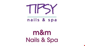 Tipsy Nails & Spa logo