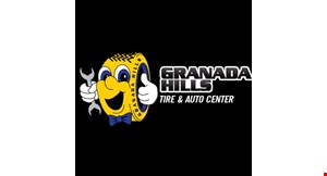 Granada Hills Tire & Auto Center logo