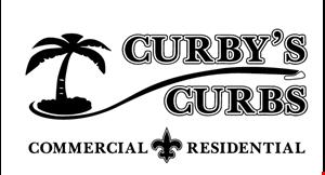 Curby's Curbs logo