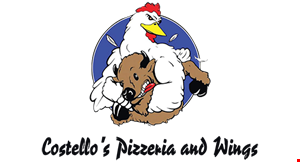 Costello's  Pizzeria and Wings logo