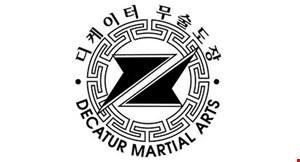 Decatur Martial Arts logo