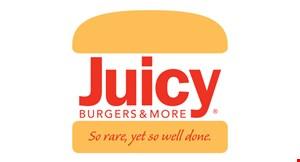 Juicy Burgers & More logo