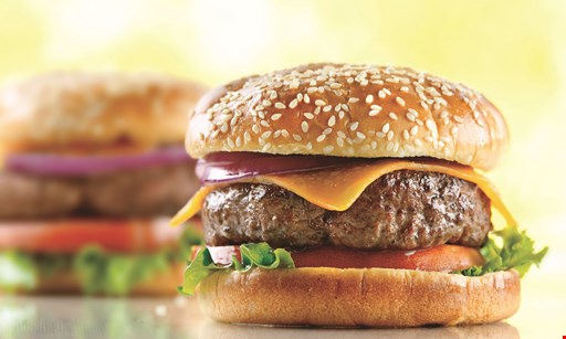 Product image for Juicy Burgers & More $2off any purchaseof $15 or more