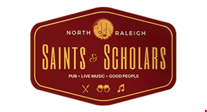 SAINTS AND SCHOLARS PUB logo