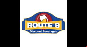 Route 9 Discount Beverage logo