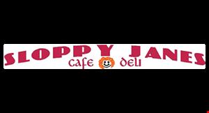 Sloppy Janes Cafe Deli logo