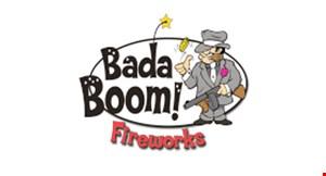 Bada Boom Fireworks logo