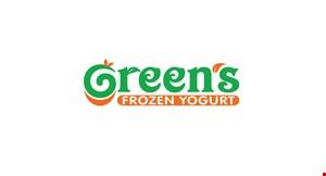Green's Frozen Yogurt logo