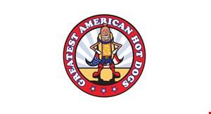 Greatest American Hot Dogs logo