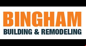 Bingham Building & Remodeling logo