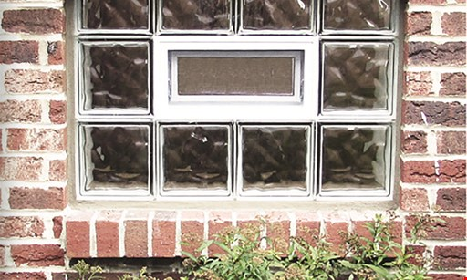 """Product image for ROCHESTER GLASS BLOCK Glass block windows starting at $124. 32""""x14"""" or 32""""x16"""". Standard installation included (minimum purchase of two windows required.). Coupon code: CM03. Similar savings on all sizes and any number of windows."""