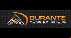 DURANTE HOME EXTERIORS logo