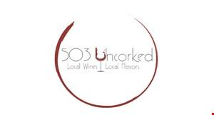 503 Uncorked logo