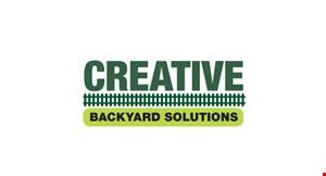 Creative Backyard Solutions logo