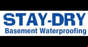 Stay -Dry  Waterproofing logo