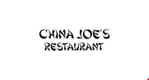 China Joe's Restaurant logo