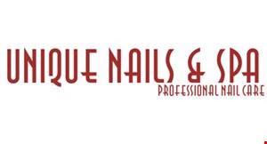Unique Nails & Spa logo