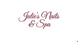 Julie's Nails & Spa logo