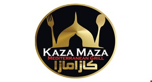 Kaza Maza Mediterranean Grill logo