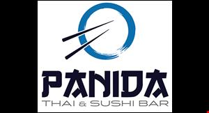 Panida Thai &Sushi logo