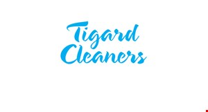 Tigard Cleaners logo