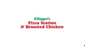 Filippo's Pizza Station & Broasted Chicken logo