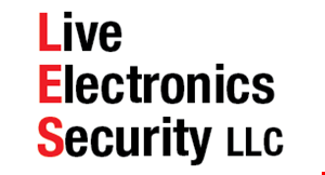 Live Electronics & Security logo