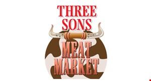 Three  Sons Meat Market logo