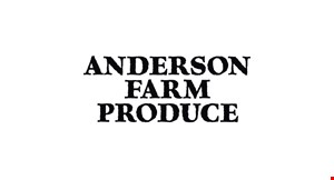 Anderson Farm Produce logo