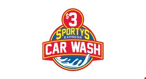 SPORTY'S EXPRESS CAR WASH logo