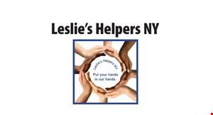 Leslie's Helpers NY logo