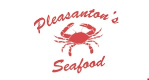 Product image for Pleasanton's Seafood $2 off any purchase of $20 or more.