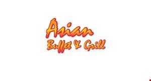 Asian Buffet & Grill logo