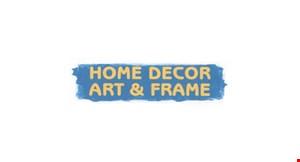 Home Decor Art & Frame logo