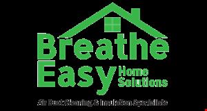 Breathe Easy Home Solutions logo