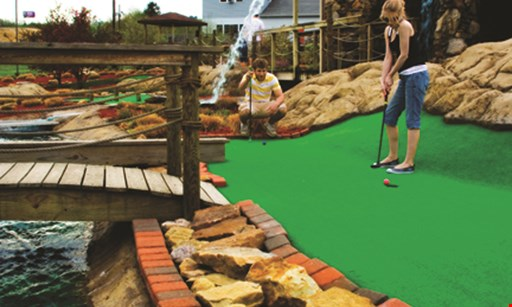 Product image for Statlers Fun Center Free mini golf pay for one round, get one FREE.