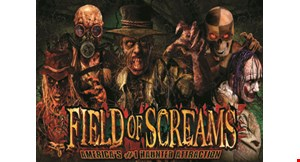Product image for Field of Screams $2 off (1) End Of Season Scream Pass