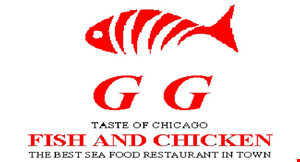 Gg Fish & Chicken logo