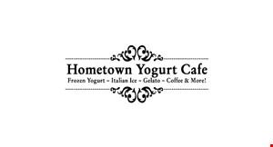Hometown  Yogurt Cafe logo