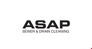 ASAP Sewer & Drain Cleaning LLC logo